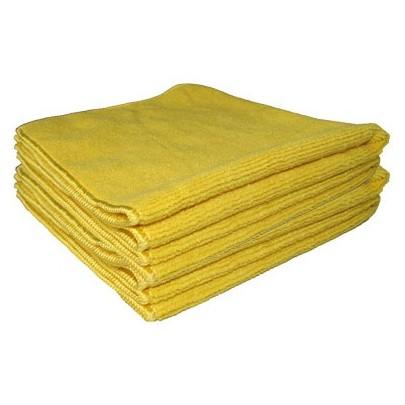 Microfibre Tricot Soft jaune