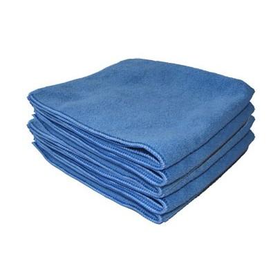 Microfibre Tricot Soft bleu