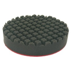 Mousse de lustrage D76mm 25mm Noir quadrille