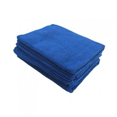 Microfibre Tricot Soft bleu XL