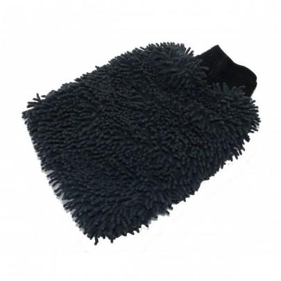 Gant de lavage MicroFibre Rasta noir