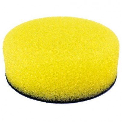 Mousse de lustrage D150mm 50mm Jaune