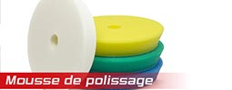 menu mousse de polissage