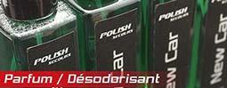 menu parfum desodorisant automobile